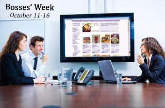 National Bosses Week - October 11 - 15, 2010