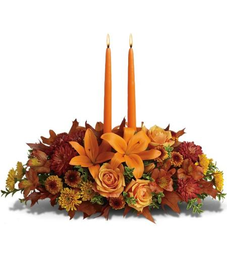 Dress Your Table With A Thanksgiving Centerpiece From