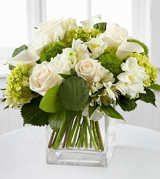 Go green with a st patricks day floral arrangement from carithers pure heaven bouquet mightylinksfo Images