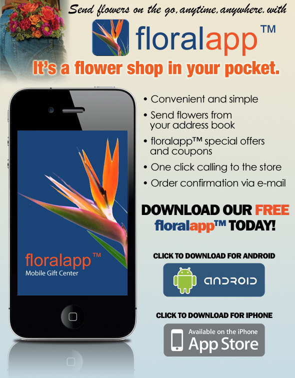 Carithers Flowers Mobile App
