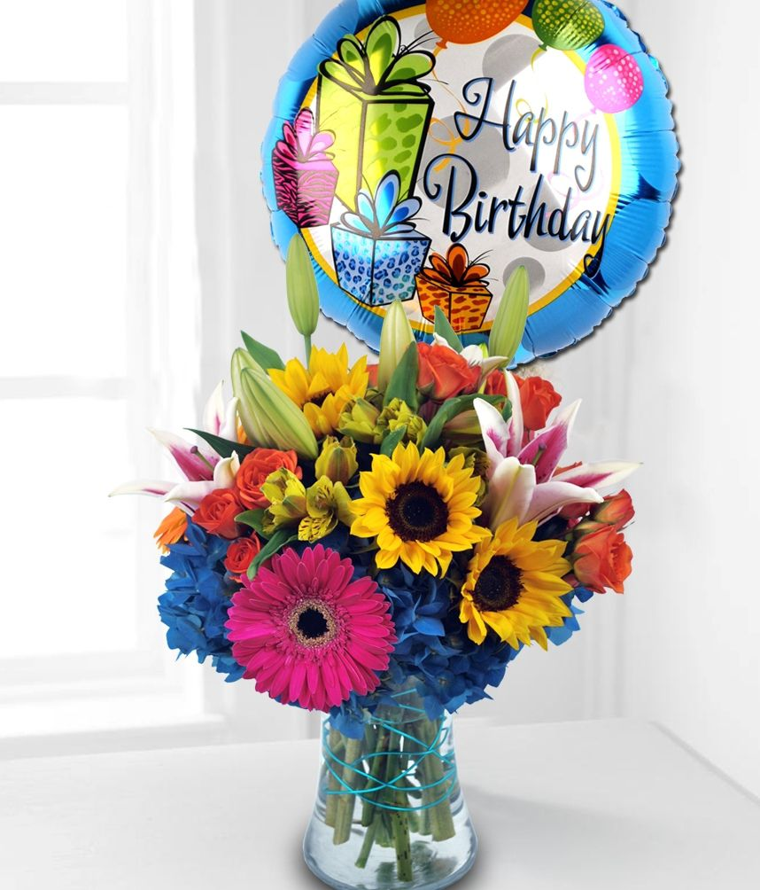 A Birthday Surprise Flower Gift Ideas For Friends Family And Colleagues Carithers Flowers