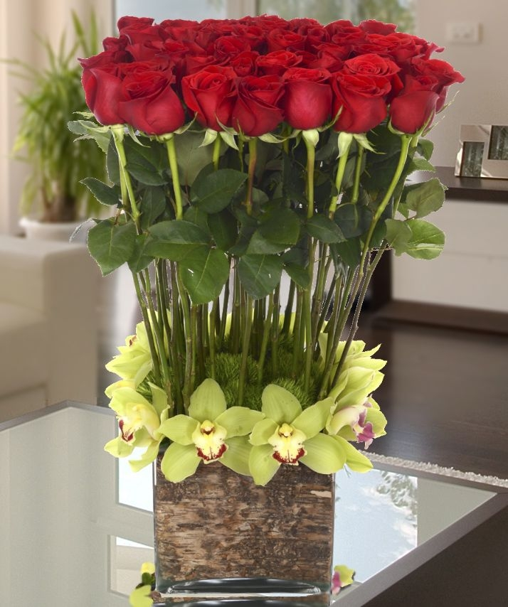 Flowers the most popular valentine s day gift carithers - Unusual mothers day flowers ...